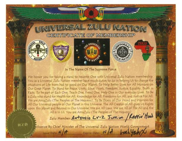 Rappin Hood é nomeado king Zulu  Nation Brazilian
